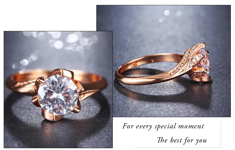 Big Cubic Zirconia Wedding Engagement Rings6