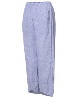 Elastic Waist Striped Harem Pants