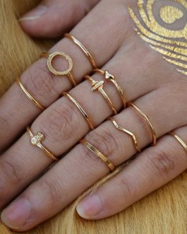 Geometric Cross Multilayer Rings Set