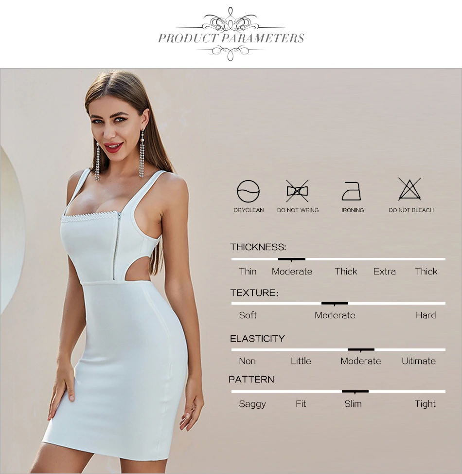 Hollow Out Sexy Bodycon Celebrity Runway Club Party Dresses 1