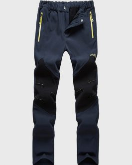 Outdoor Stitching Thicken Waterproof Sport Pant