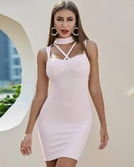 Sexy Runway Sleeveless Celebrity Club Party Dresses