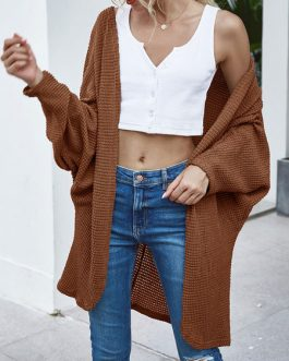Casual Long Sleeves Cardigans Sweater Coat