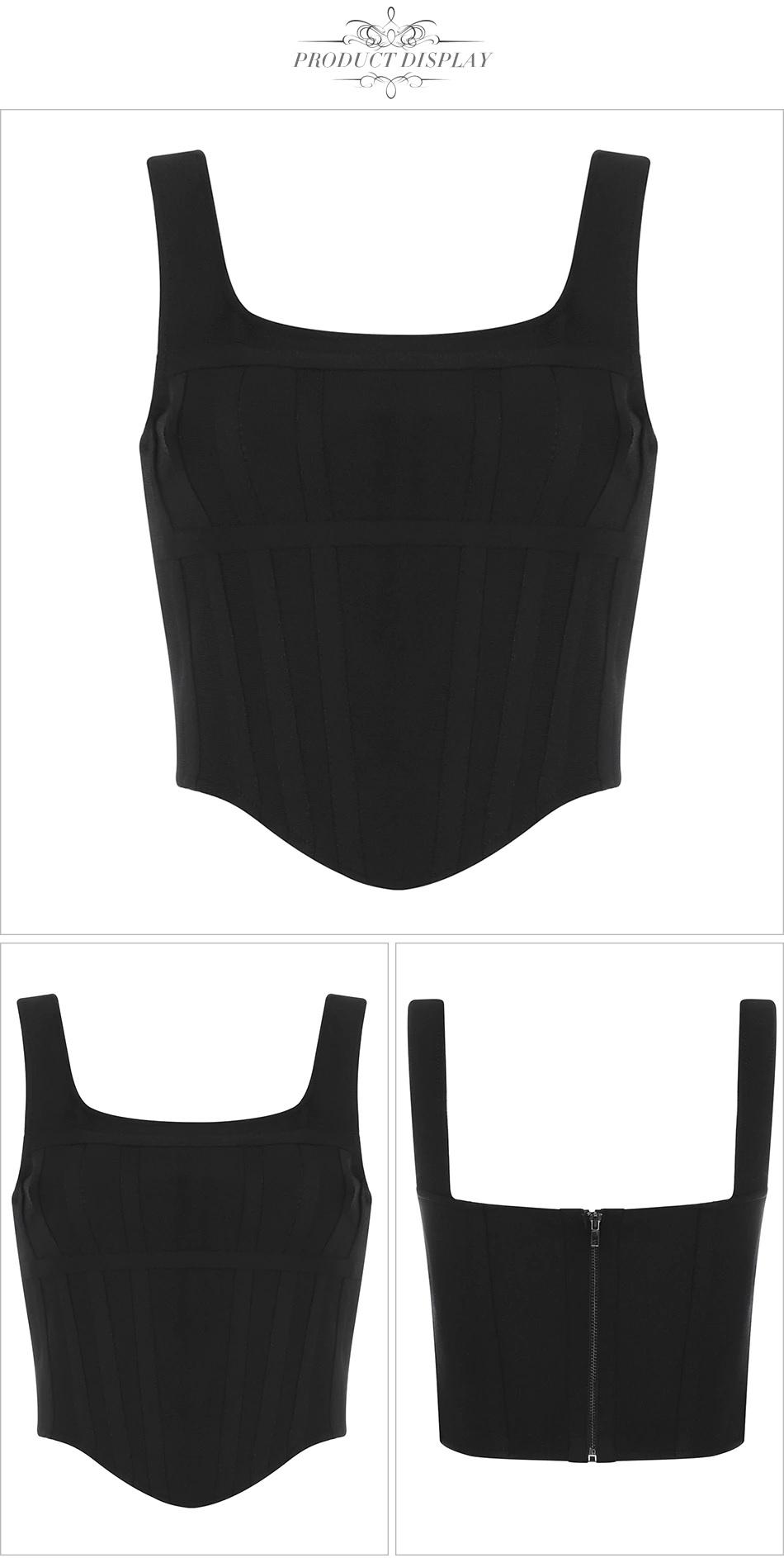 Casual Slim Sexy Short Bandage Tank Fashion Crop Top 6
