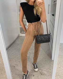 Casual sports loose home Street pants
