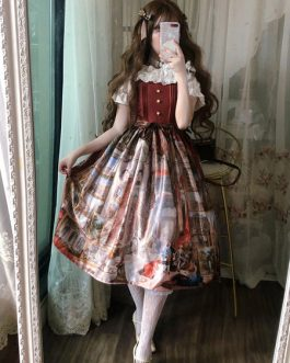 Classic Lolita JSK Dress Royal Gallery Jumper Skirts