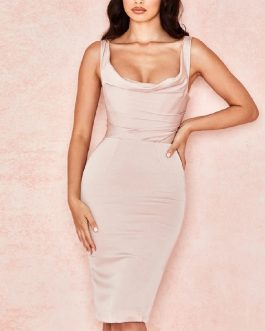 Sleeveless Sexy Spaghetti Strap Fashion Club Celebrity Party Dresses