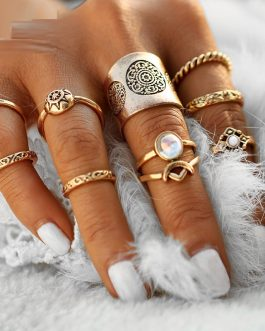 Steampunk Turkish Party Boho Knuckle Ring