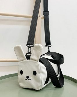 Sweet Lolita Bag Bunny Canvas Cross Body Bag
