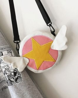 Sweet Lolita Bag Cardcaptor Sakura Canvas Cross Body Bag
