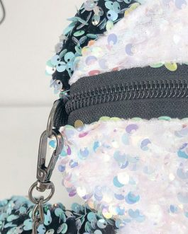 Sweet Lolita Bag Panda Sequins Cross Body Bag