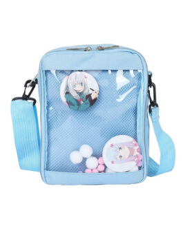 Sweet Lolita Transparent Anime Badge Cross Body Bag