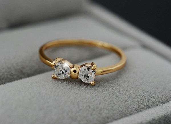 Wedding Engagement Cubic Zirconia Rings3