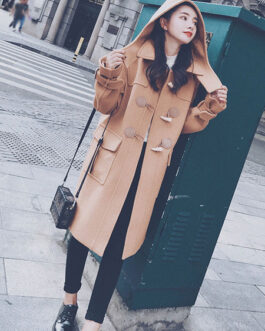 Duffle Coats Overcoat Polyester Lolita Outwears