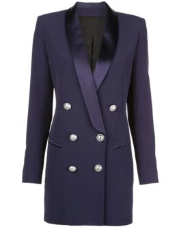 Elegant  Slim Trench Double Breasted  Runway Party Coat