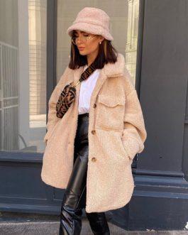 Harajuku Paraka Fleece Long Bubble Coat