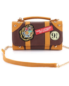 Lolita Harry Potter Theme PU Leather Cross Body Bag