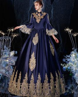 Rococo Victorian Retro Costume Dress