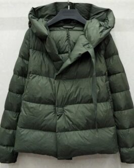 Short Coat Hooded Parkas Warm Duck Down Jacket