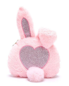 Sweet Lolita Bunny Faux Fur Cross Body Bag