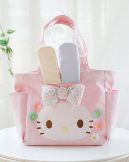 Sweet Lolita Melody Bunny Canvas Cross Body Bag