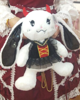 Sweet Lolita Short Plush Bunny Cross Body Bag