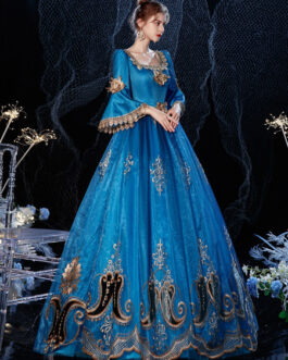 Victorian Retro Costume Dress