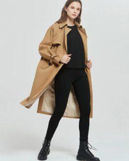 Windbreaker Single Breasted Pockets Outwear Coat