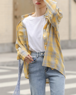 Batwing Long Sleeve Casual Shirt