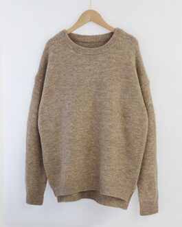 Batwing Long Sleeve Loose Soft Wool Sweaters