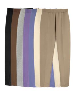 Elastic Waist Casual Long Pants