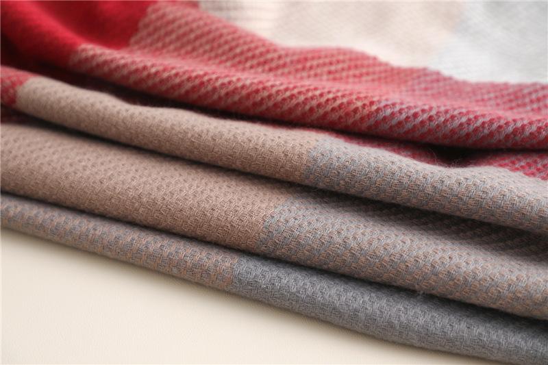 Fashion luxury scarves tassel wrap shawl3