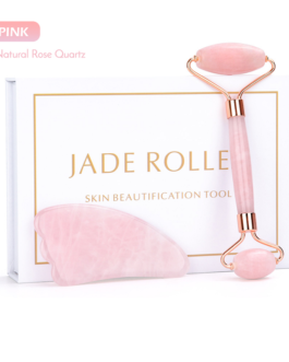 Jade Roller Jade Stone with derma roller 0.3mm