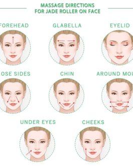 Jade Stone Facial Roller Beauty Massage Tool