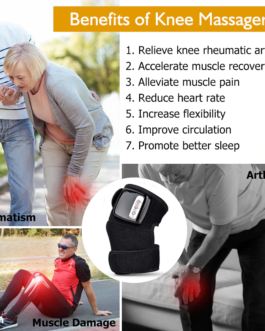 Knee Brace Vibration Pain Relief Therapy