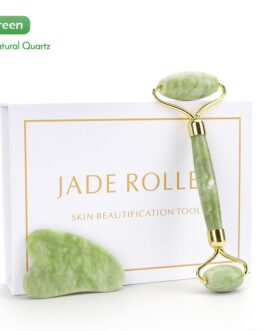 Natural Jade Facial Eye Massage Roller