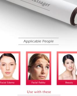 Natural Stone Jade Roller Facial Massager