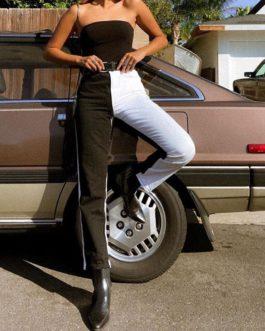 Skinny Casual Pockets High Waist Pencil Pants
