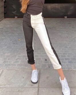 Skinny Casual Pockets High Waist Pencil Pants