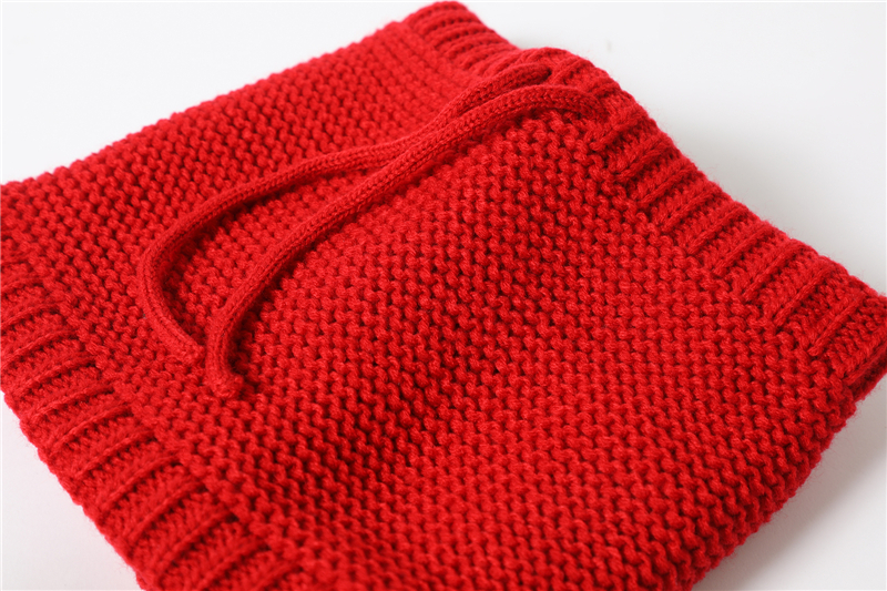 Adjustable Warm Knitted Collar Ring Neck Scarf6