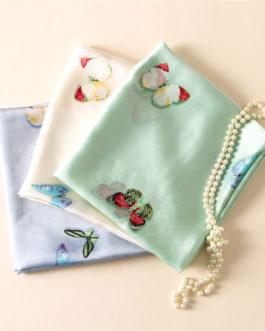 Butterfly print silk beach stoles