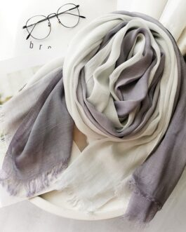 Casual Cotton And Linen Forest Slub Yarn Shawl Scarf