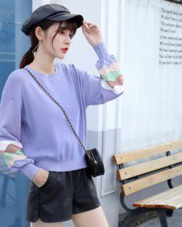 Casual Loose Long Sleeve Jumper Fashion Street Wear Pullovers Sweater