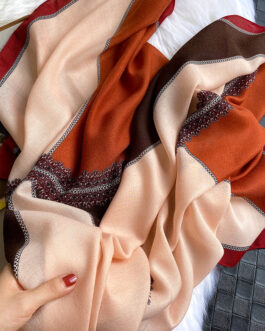 Fashion Colorblock Neck Scarves