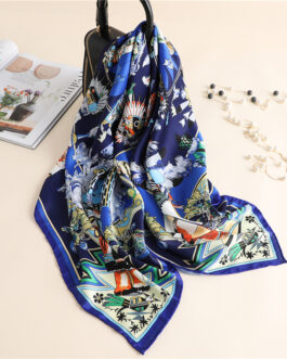 Fashion Design Print Neck Square Scarves