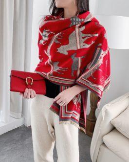 Fashion Design Print Warm Scarves