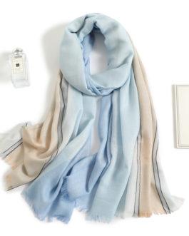 Fashion Foulard Warm Plaid Scarf