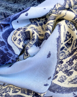 Fashion Printed Polyester Scarves