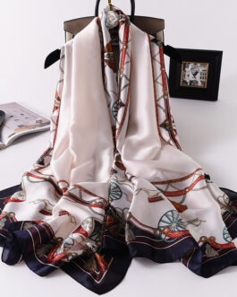 Fashion Printed Silk Stole
