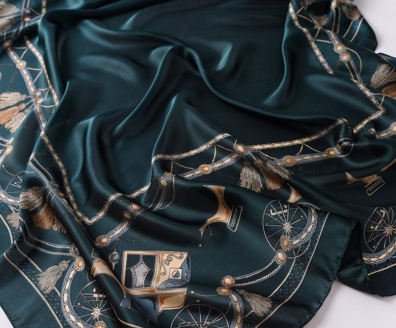 Fashion Printed Silk Stole10